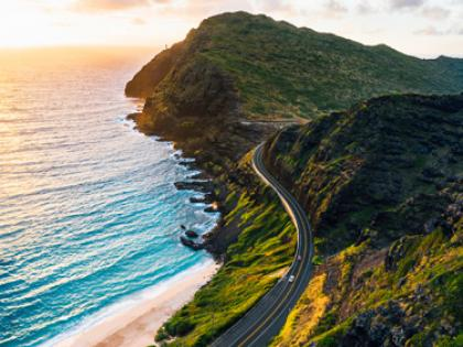 Driving Tour of Hawaii's islands