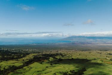 Aerial View from Upcountry Maui